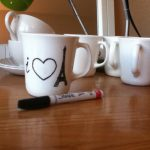 Dishwasher safe sharpie mug